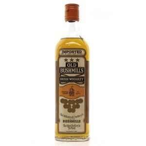 Old Bushmills Irish Whiskey 1970s