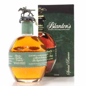 Blanton's Single Barrel Special Reserve Dumped 2013
