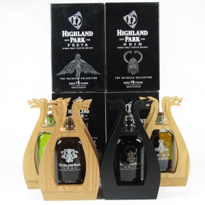 Highland Park Valhall Collection 4 x 70cl