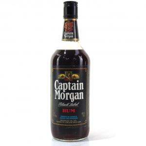 Captain Morgan Gold Label Rum 1980s