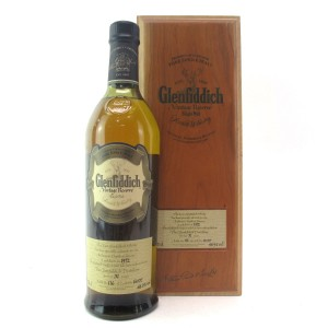 Glenfiddich 1972 Vintage Reserve 31 Year Old