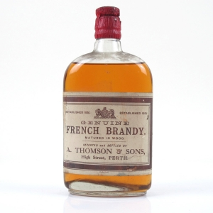 A. Thomson and Sons Genuine French Brandy Circa 1950s/60s