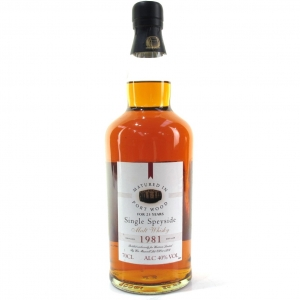Waitrose 1981 Speyside Single Malt 23 Year Old / Port Wood