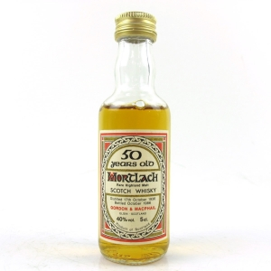 Mortlach 1936 Old Gordon and MacPhail 50 Year Miniature 5cl