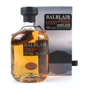 Balblair 2000 Single Cask #1350 / The Gathering Place