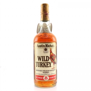 Wild Turkey 8 Year Old 101 Proof 1990s / Japanese Import