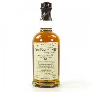 Balvenie 10 Year Old Founder's Reserve Front