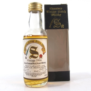 Bladnoch 1966 Signatory Vintage 23 Year Old 5cl Miniature