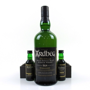 Ardbeg 10 Year Old Exploration Pack Including Miniatures