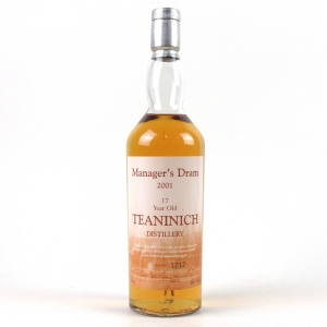 Teaninich 17 Year Old Managers Dram 2001