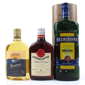 *European Spirit Selection 1 x 70cl and 2 x 50cl