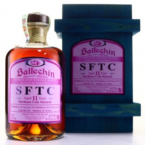 Ballechin 2005 Straight from the Cask 11 Year Old 50cl / Bordeaux Cask