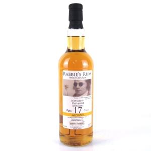 Uitvlugt 1999 Rabbie's Rum 17 Year Old Guyanan Rum