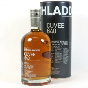 Bruichladdich 21 Year Old Cuvee #640 Limousin Oak Front