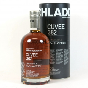 Bruichladdich 21 Year Old Cuvee #382 Sweet Wine Finish front