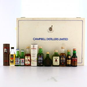 Campbell Distillers Limited Presentation Box Miniatures x 12