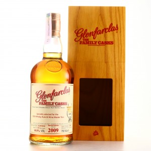 Glenfarclas 2009 Family Cask #2380 / Whisky Rum & Wine Master Test