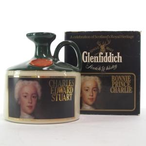Glenfiddich Bonnie Prince Charlie Stoneware Decanter 1980s
