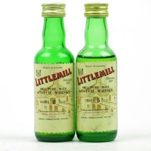 Littlemill 1970s Miniatures / 2 x Miniatures