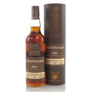 Glendronach 2003 Single Cask 13 Year Old #5950 / Taiwanese Exclusive