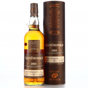 Glendronach 2003 Single Cask 13 Year Old #713 / The Green Welly Stop