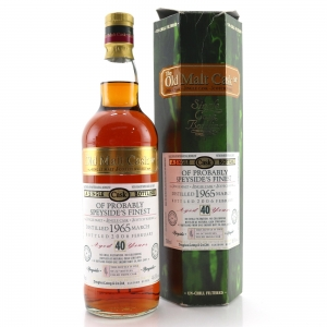 Glenfarclas 1965 Douglas Laing 40 Year Old / Probably Speyside's Finest