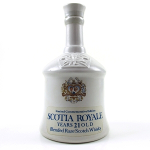 Scotia Royale 21 Year Old Royal Wedding Decanter 1981