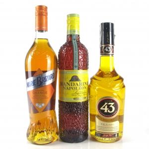 Miscellaneous Citrus Liqueur Selection 3 x 70cl