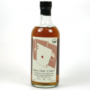 Hanyu 1986 Ace of Diamonds Single Cask #9023 Front