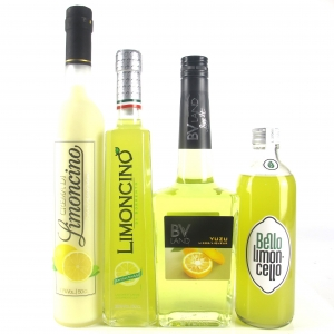 Miscellaneous Lemon Liqueur Selection 3 x 50cl & 1 x 70cl
