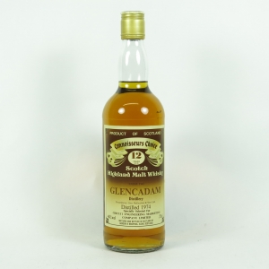 Glencadam 1974 Gordon and Macphail 12 Year Old / Private Bottling front