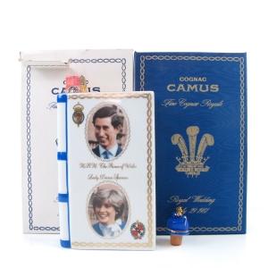 Camus Cognac Royal Wedding 1981 Decanter
