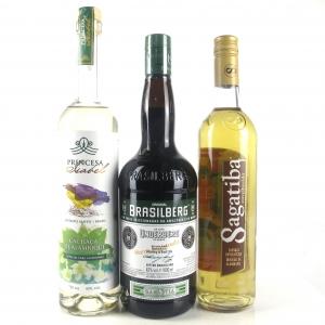 Miscellanious Brazillian Spirit Selection x 3