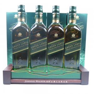 Johnnie Walker Green Label Taiwan Wonders Collection / Including Display