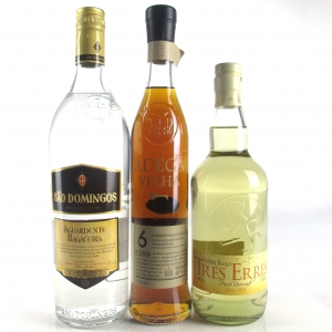 Miscellaneous Brandy Selection x 3