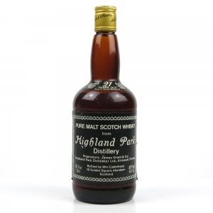 Highland Park 1957 Cadenhead's 21 Year Old Sherry Wood