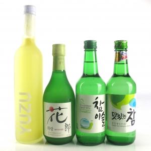 Miscellaneous East Asian Spirit Selection x 4