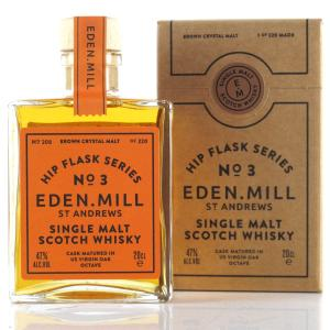 Eden Mill Single Malt Hip Flask Series No.3 20cl / Brown Crystal Malt