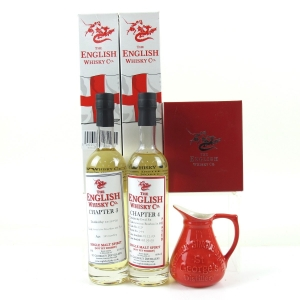 English Whisky Co Chapter #3 and #4 2 x 20cl / Including Water Jug