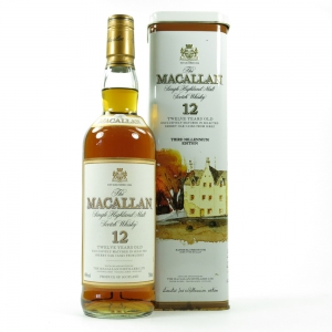 Macallan 12 Year Old Third Millennium Edition Front
