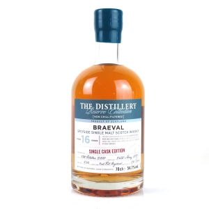Braeval 2000 Single Cask 16 Year Old Reserve Collection
