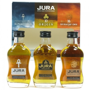 Jura The Collection Miniature Gift Pack 3 x 5cl