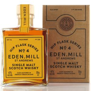 Eden Mill Single Malt Hip Flask Series No.4 20cl / French Virgin Octave