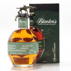 Blanton's Single Barrel Special Reserve Dumped 2014