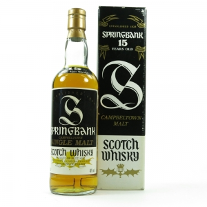Springbank 15 Year Old 1990's