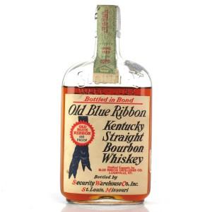 Old Blue Ribbon 1917 Bottled in Bond 12 Year Old / Prohibition Era Bottling