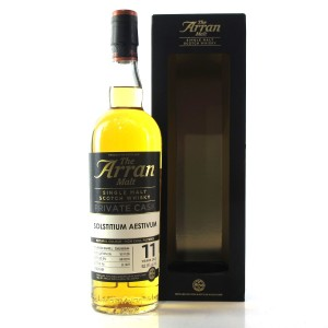 Arran 2005 Private Cask 11 Year Old / Solstitium Aestivum