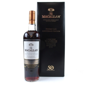 Macallan Double Cask Anniversary Edition / 50th Anniversary of DFS