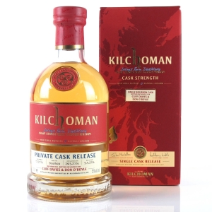 Kilchoman 2006 Private Cask Release 10 Year Old / Cliff Davies & Don O'Boyle