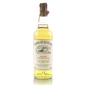 Ardmore 1990 Single Cask 10 Year Old #6356 / Lands of Scotland